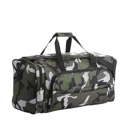 Sac de voyage multi poches 48L - WEEK END - 70900 - vert army camo