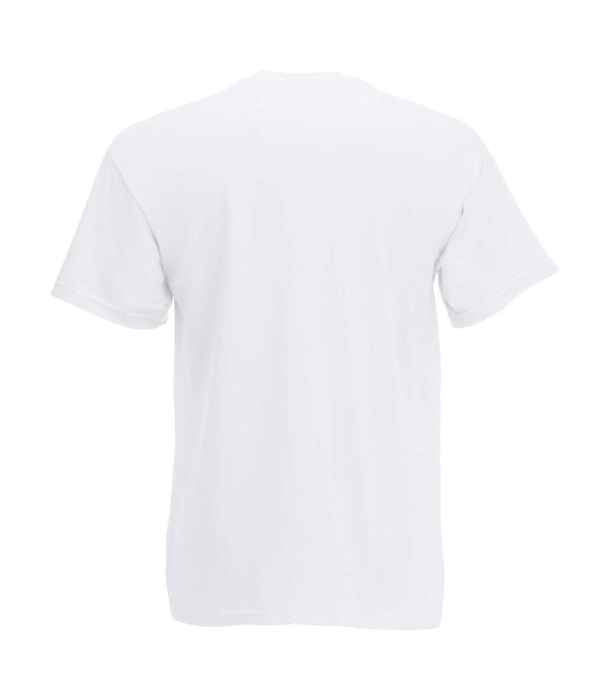 T-shirt à manches courtes - Homme (Neige) - UTBC3900