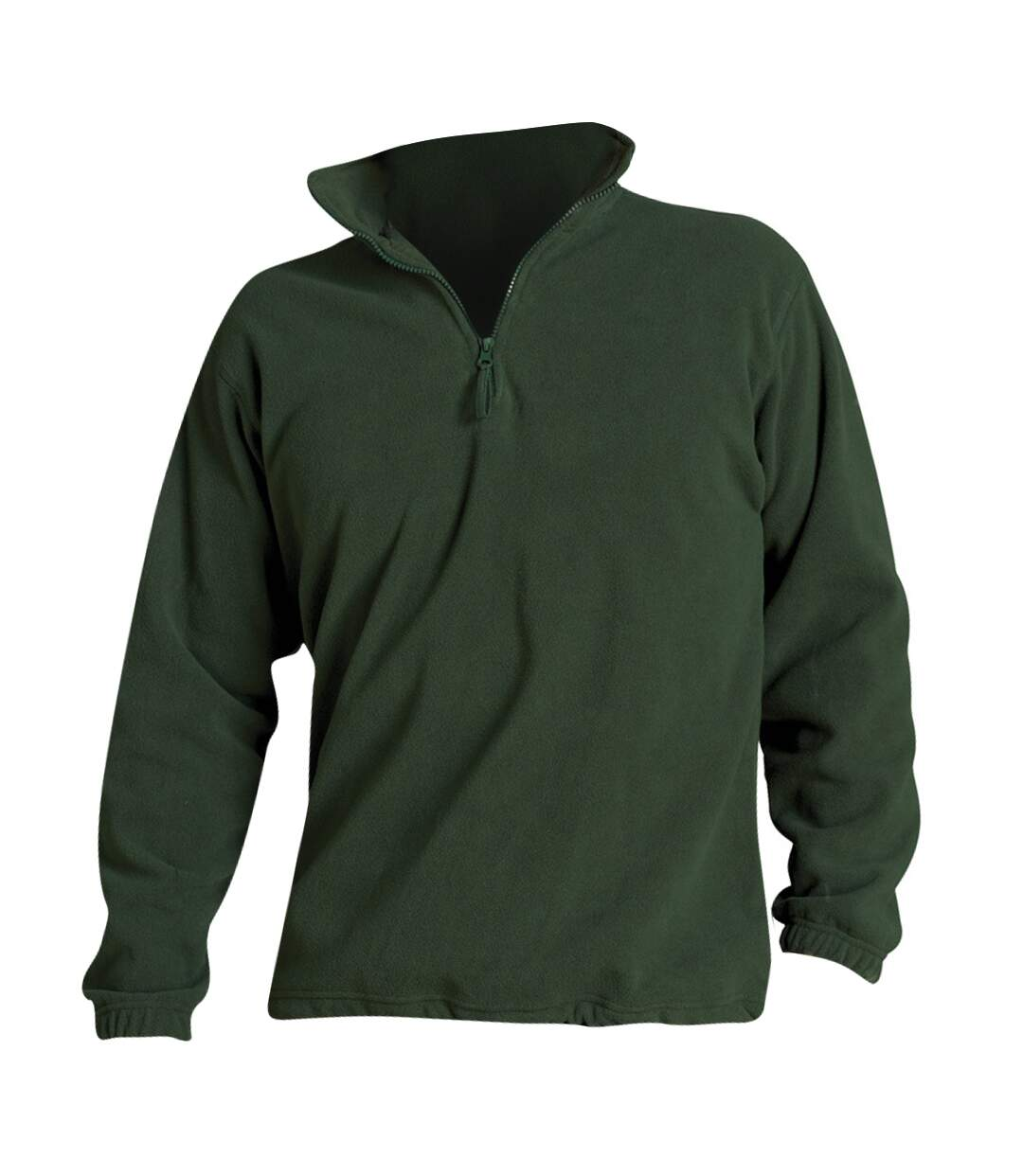 SOLS Ness Unisex Zip Neck Anti-Pill Fleece Top (Forest Green) - UTPC345