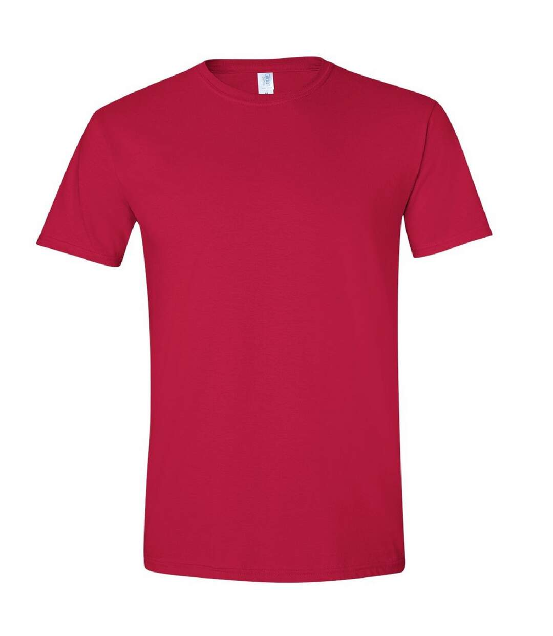 Gildan Mens Short Sleeve Soft-Style T-Shirt (Cherry Red) - UTBC484