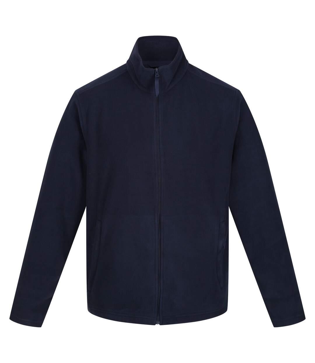 Regatta Mens Classic Microfleece Jacket (Black) - UTRG5202
