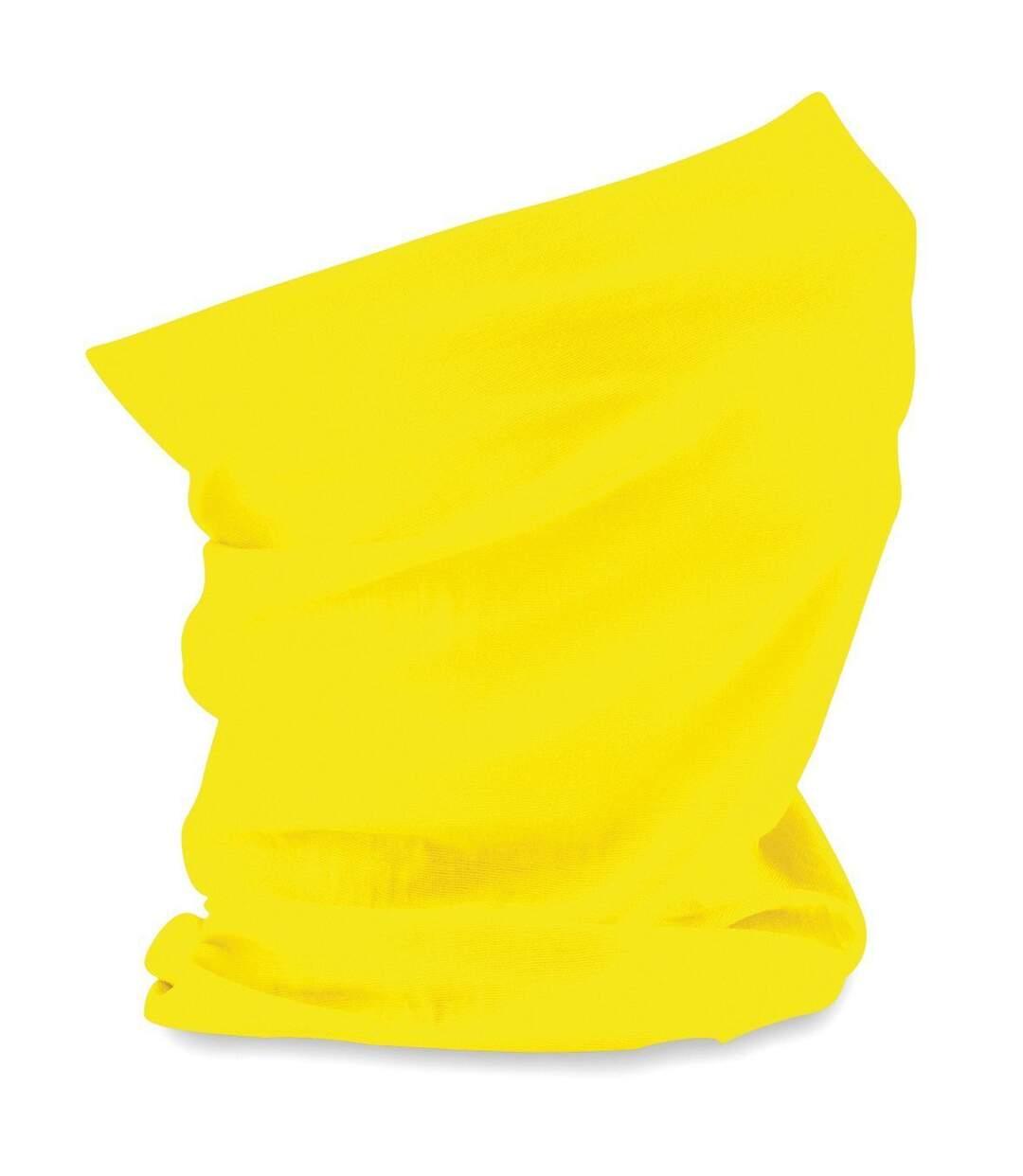 Echarpe tubulaire - tour de cou adulte - B900 - jaune