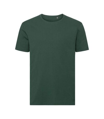 Russell Mens Authentic Pure Organic T-Shirt (Bottle Green) - UTPC3569