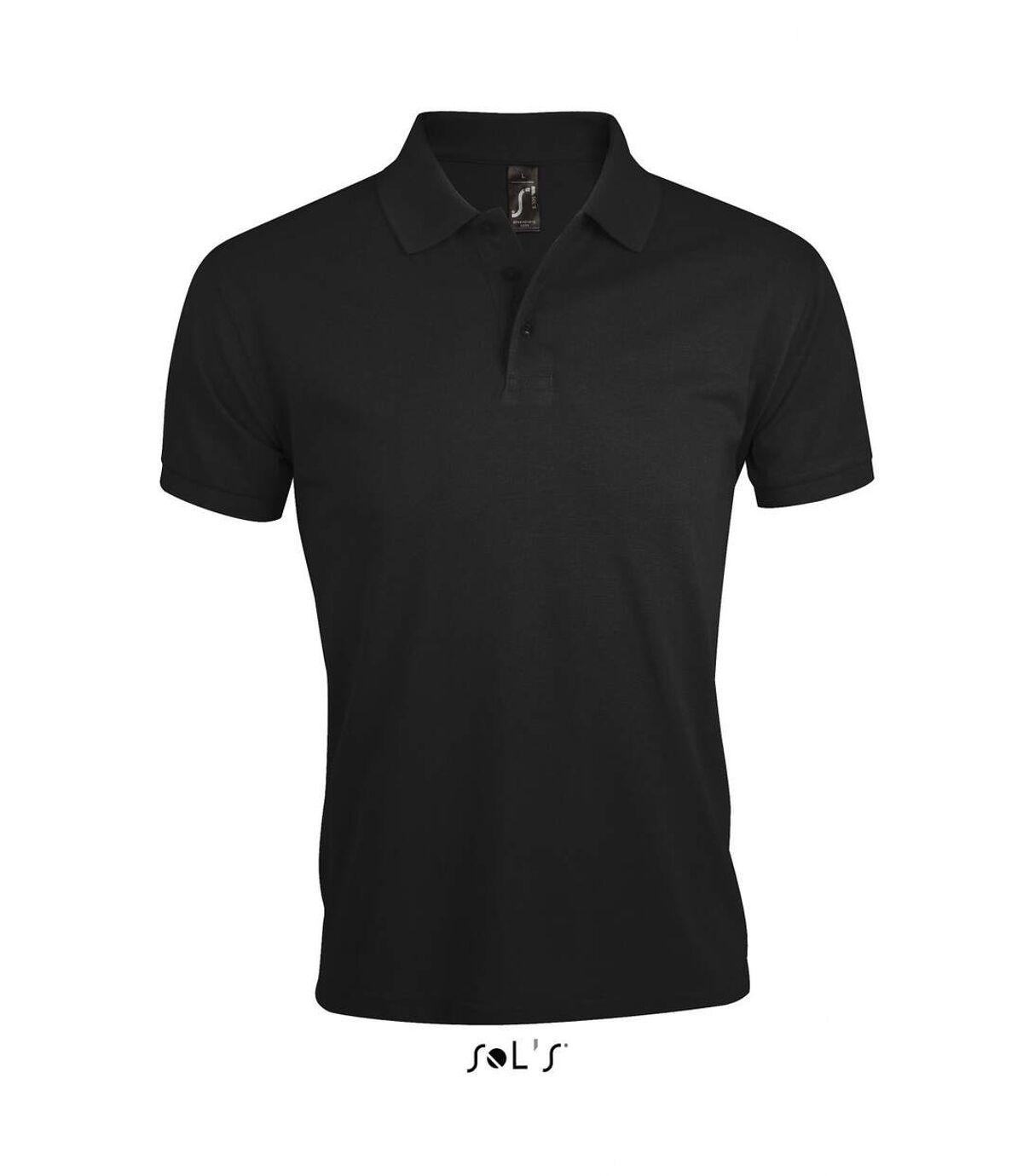 Polo homme polycoton - 00571 - noir