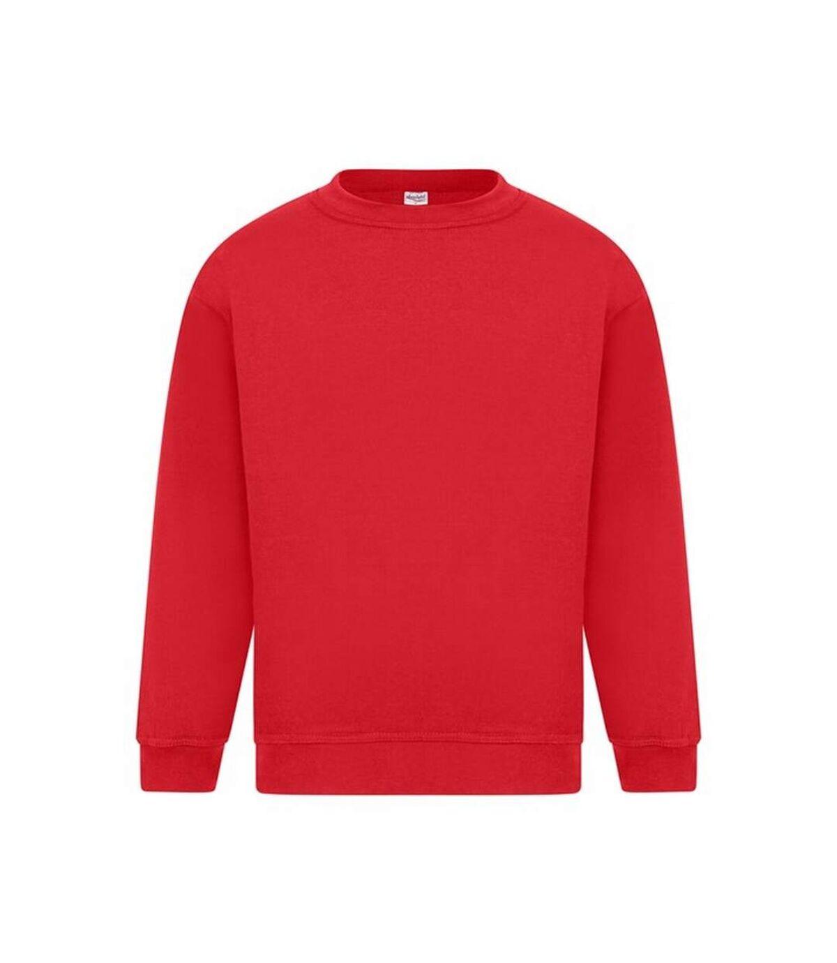 Absolute Apparel Mens Sterling Sweat (Red) - UTAB113