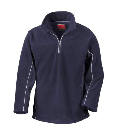 Result Mens Tech3 Sport Anti Pilling Windproof Breathable Fleece (Navy/Navy) - UTBC935