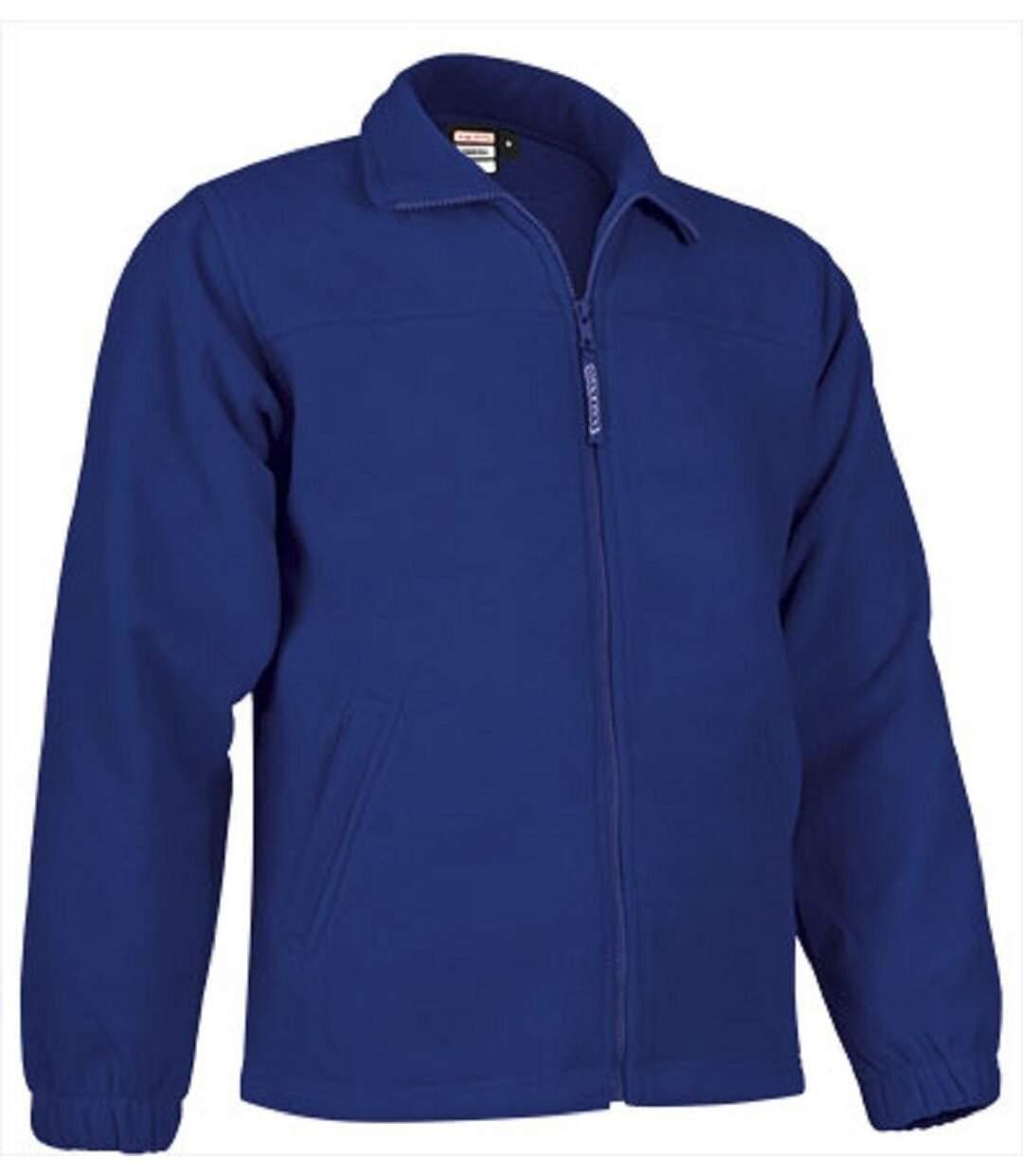 Veste polaire zippée - Homme - REF DAKOTA - bleu azur