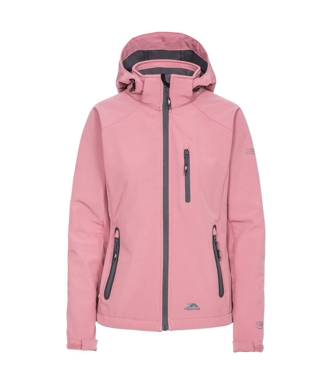 Trespass Womens/Ladies Bela II Waterproof Softshell Jacket (Dusty Rose) - UTTP3440