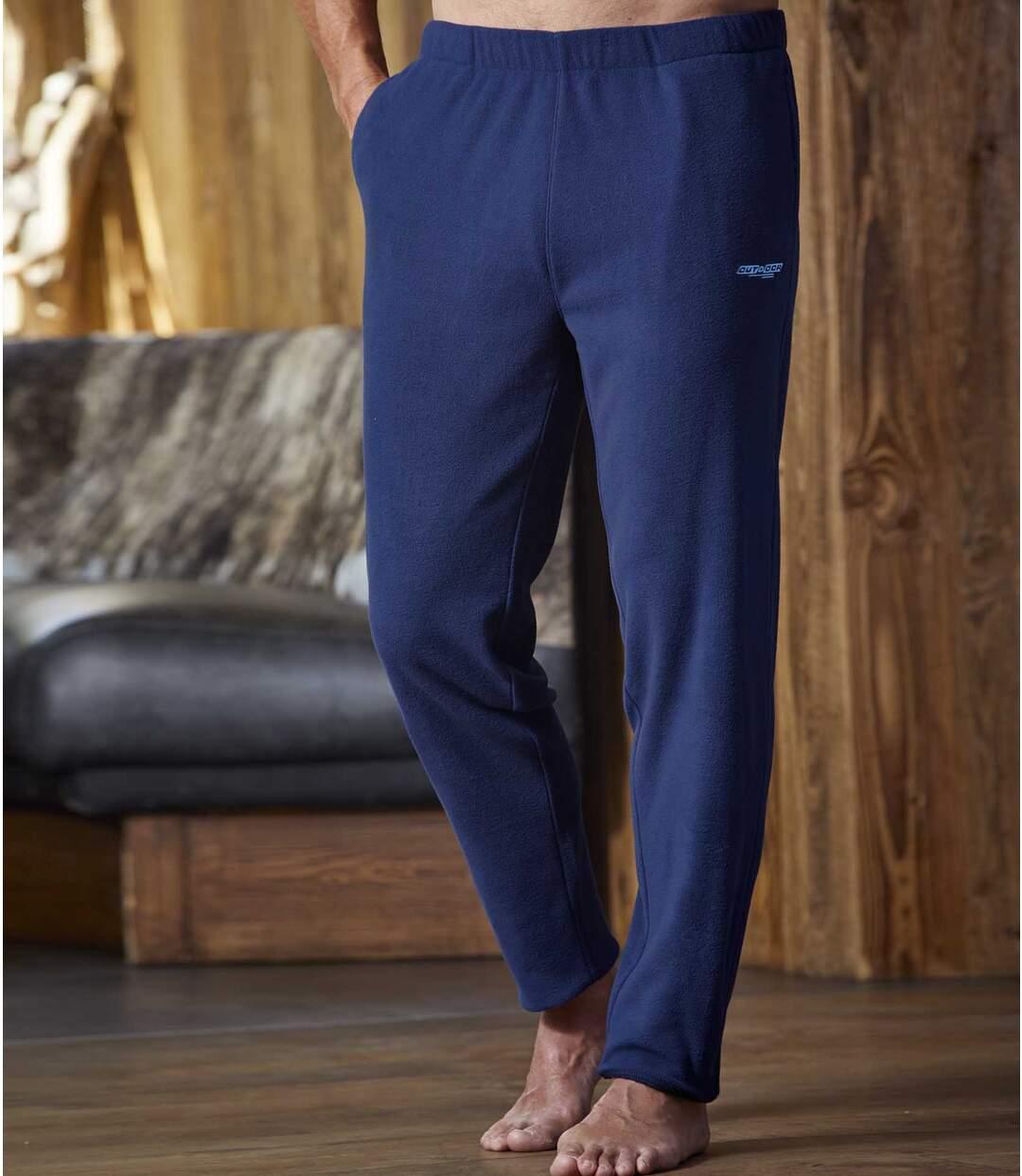 Spodnie z mikropolaru Outdoor