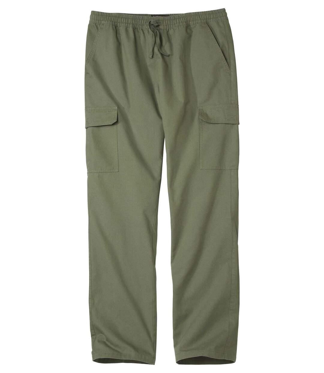 Men's Khaki Cargo Trousers