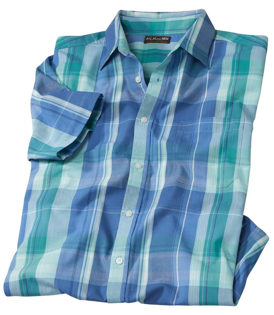 Рубашка из Поплина в Клетку