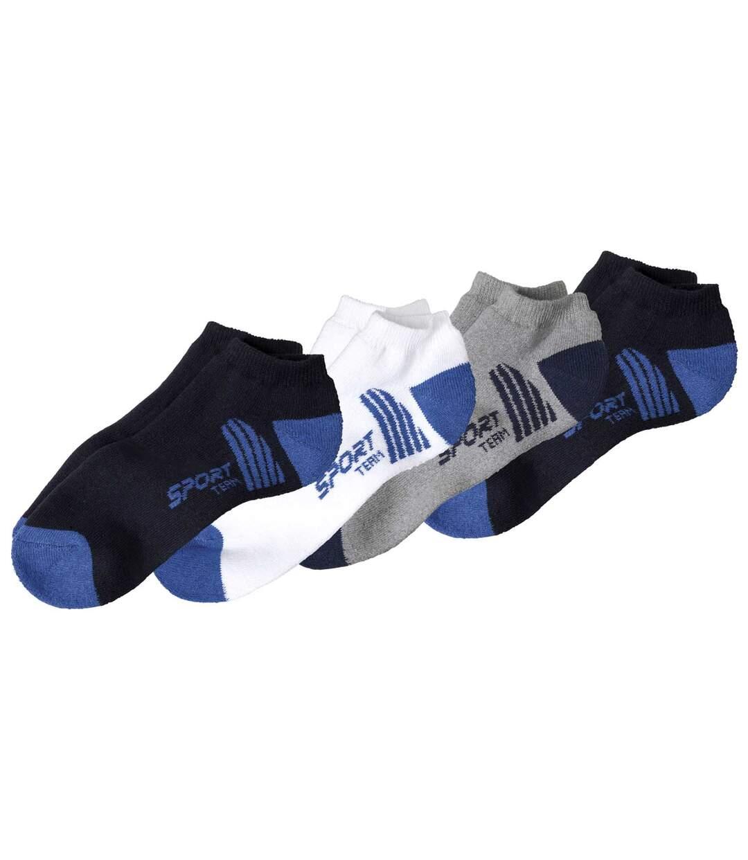 Sada 4 párů ponožek Sport Team