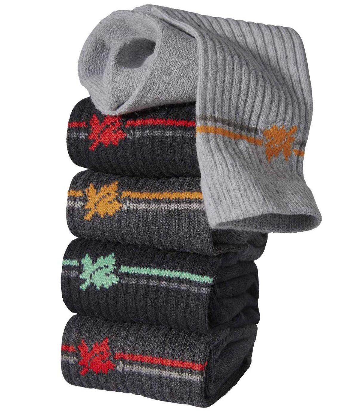 Súprava 5 párov športových ponožiek Atlas For Men