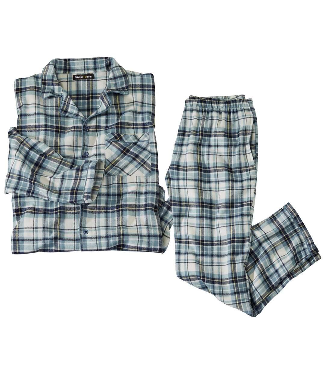 Geruite flanellen pyjama