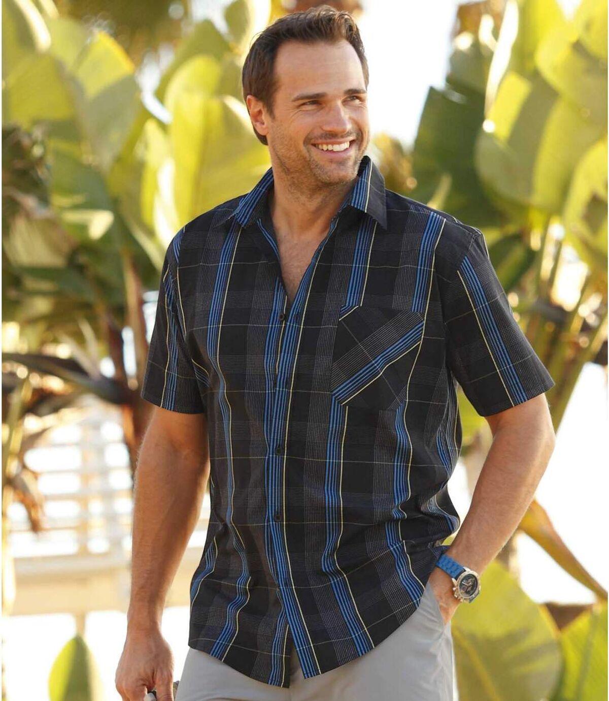 Geruit zomer overhemd Atlas For Men