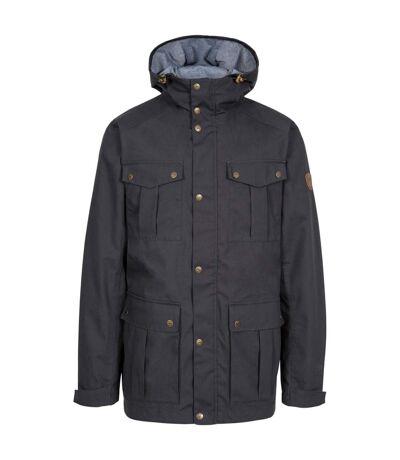 Trespass Mens Raharra Waterproof Jacket (Dark Grey) - UTTP5057