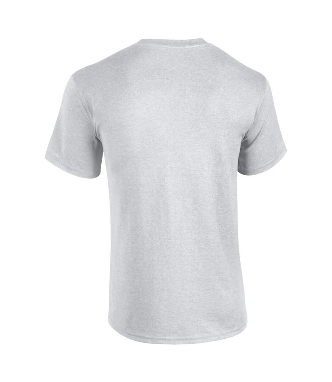 Gildan Mens Heavy Cotton Short Sleeve T-Shirt (Antique Jade Dome) - UTBC481