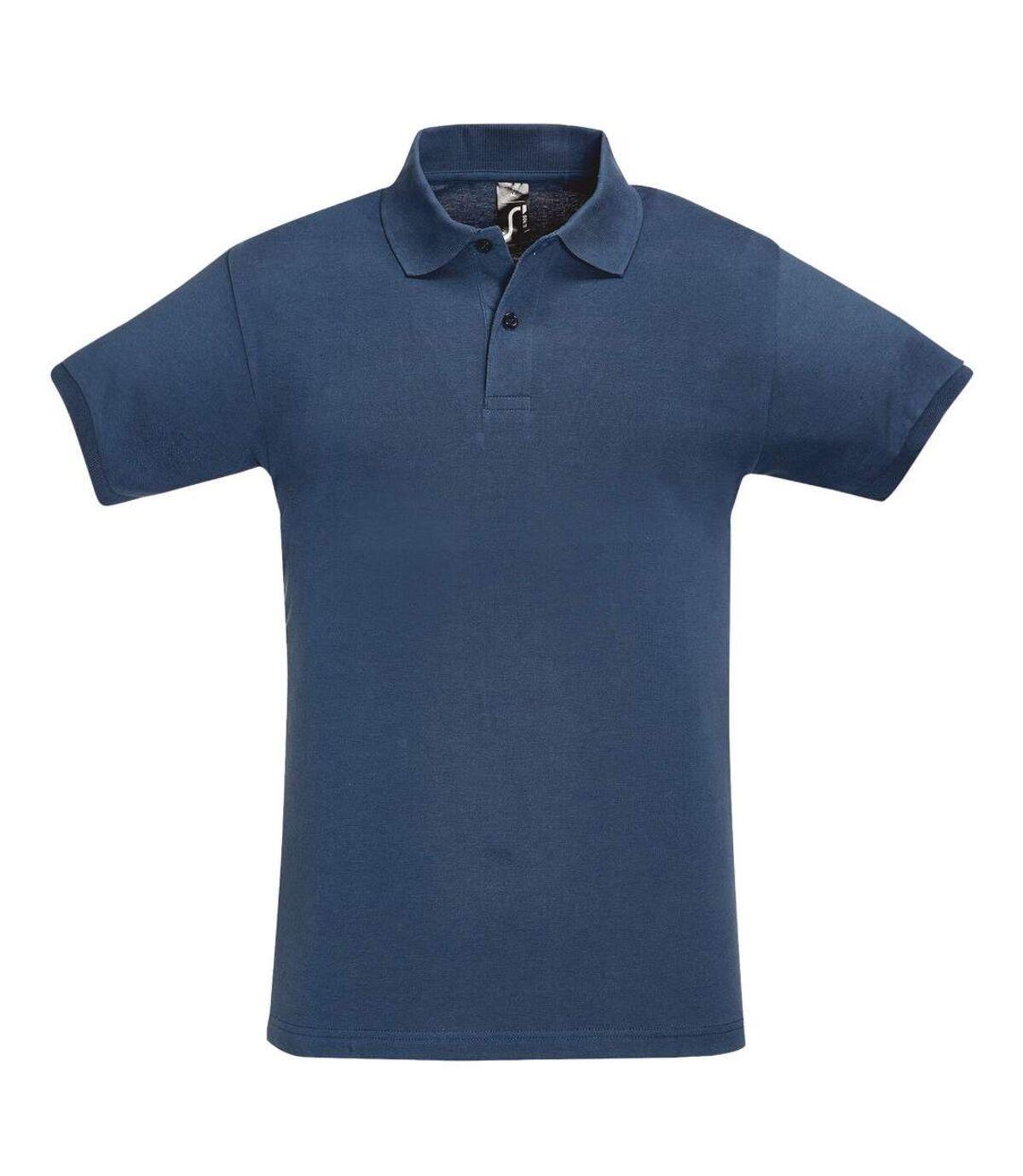 SOLS Mens Perfect Pique Short Sleeve Polo Shirt (Denim) - UTPC283