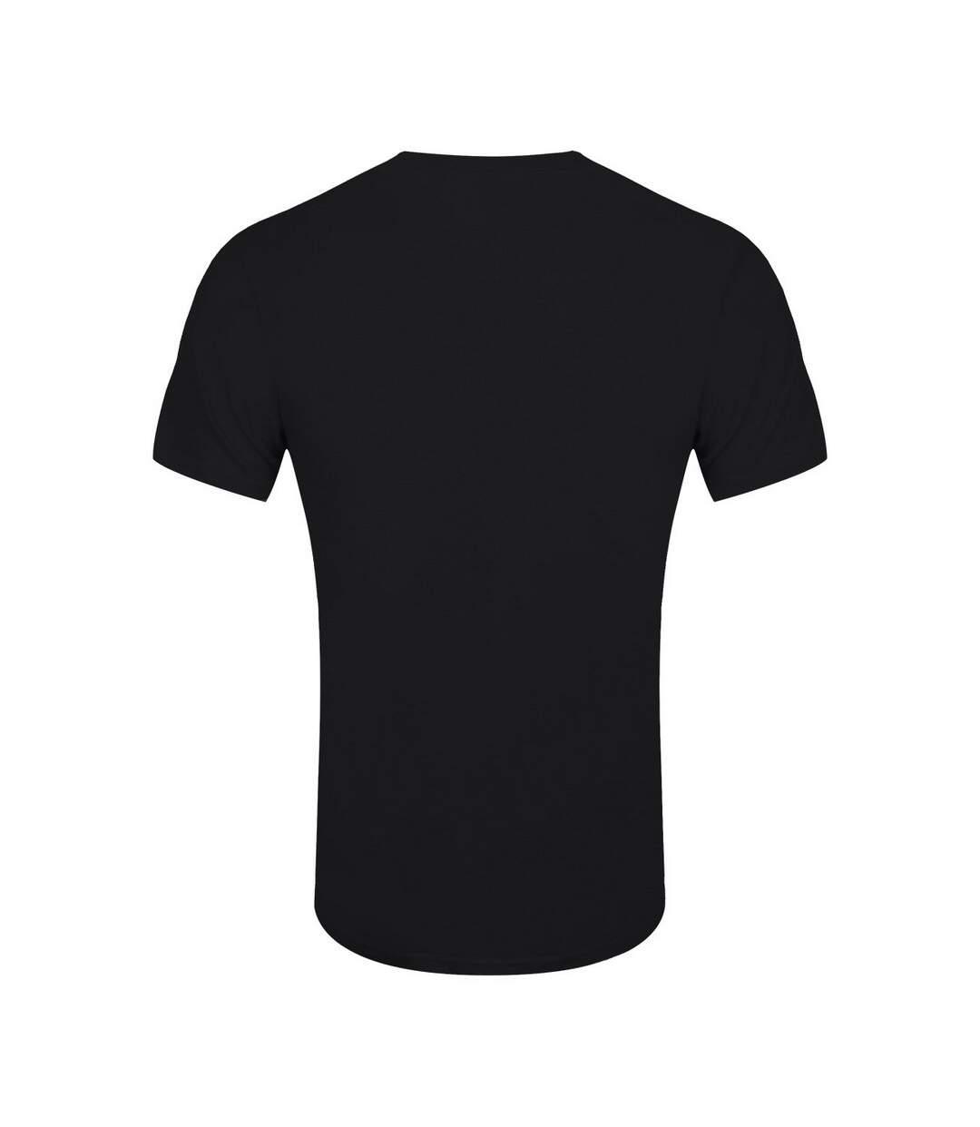 Psycho Penguin T-Shirt Mens I Have Issues (Noir) - UTGR1856