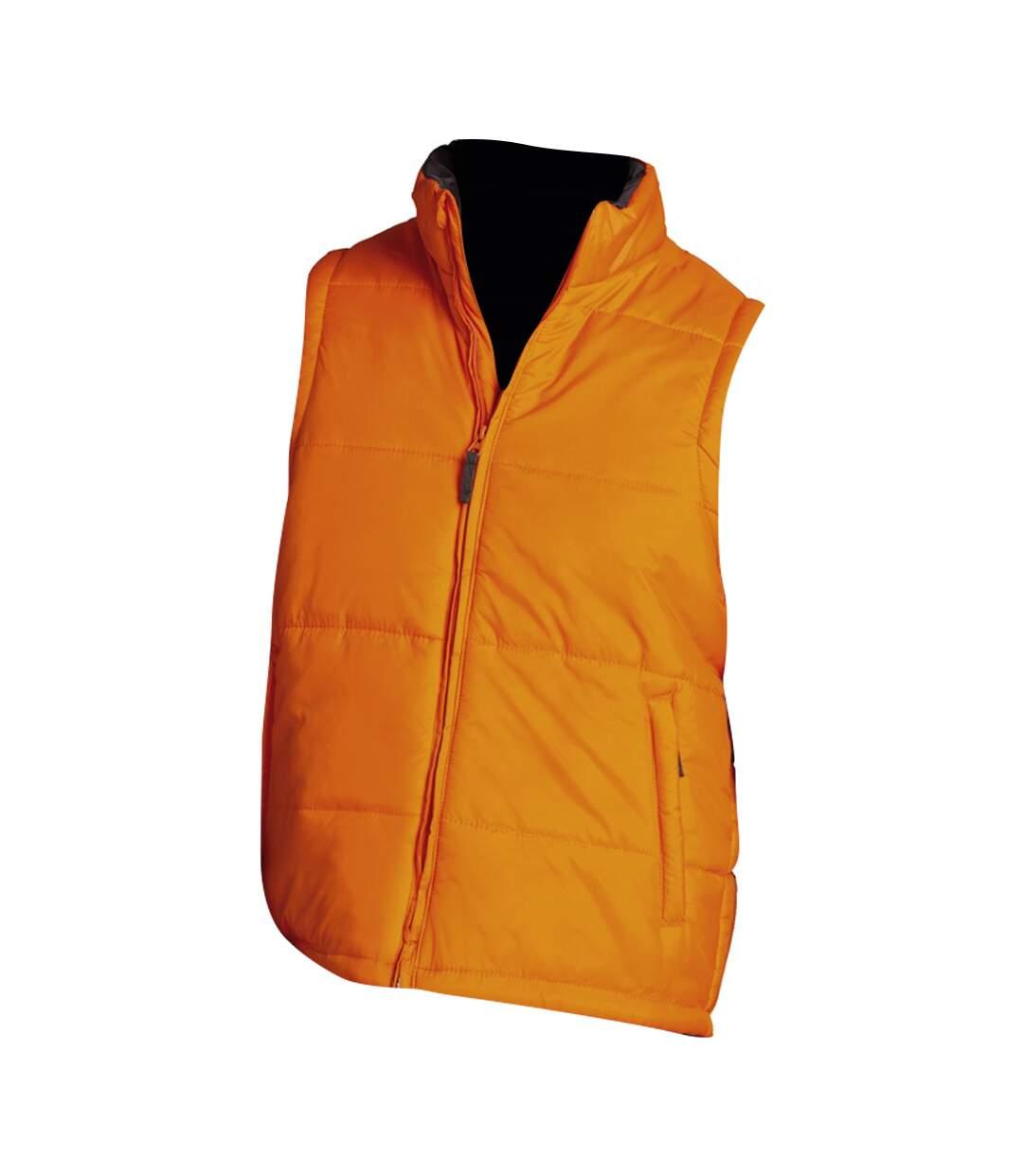 SOLS Warm Unisex Padded Bodywarmer Jacket (Orange) - UTPC355