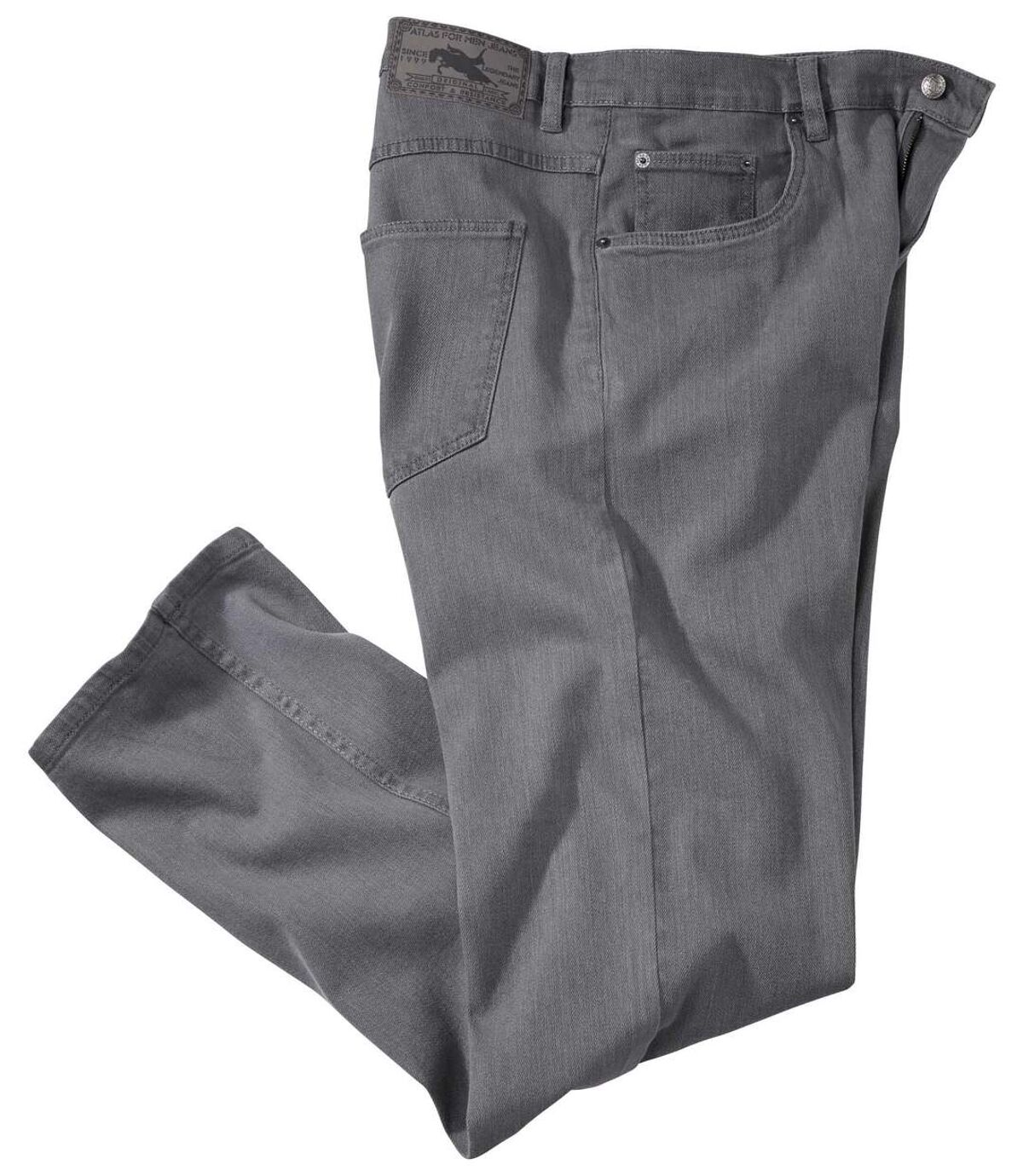 Jeans Stretch Grey Atlas For Men