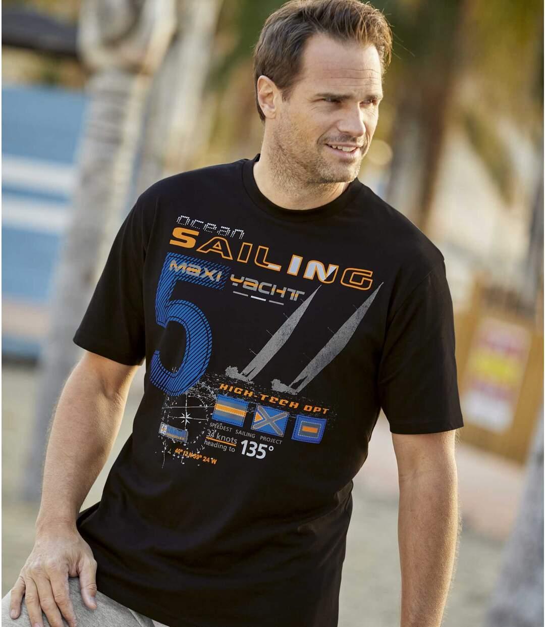2er-Pack T-Shirts Sailing