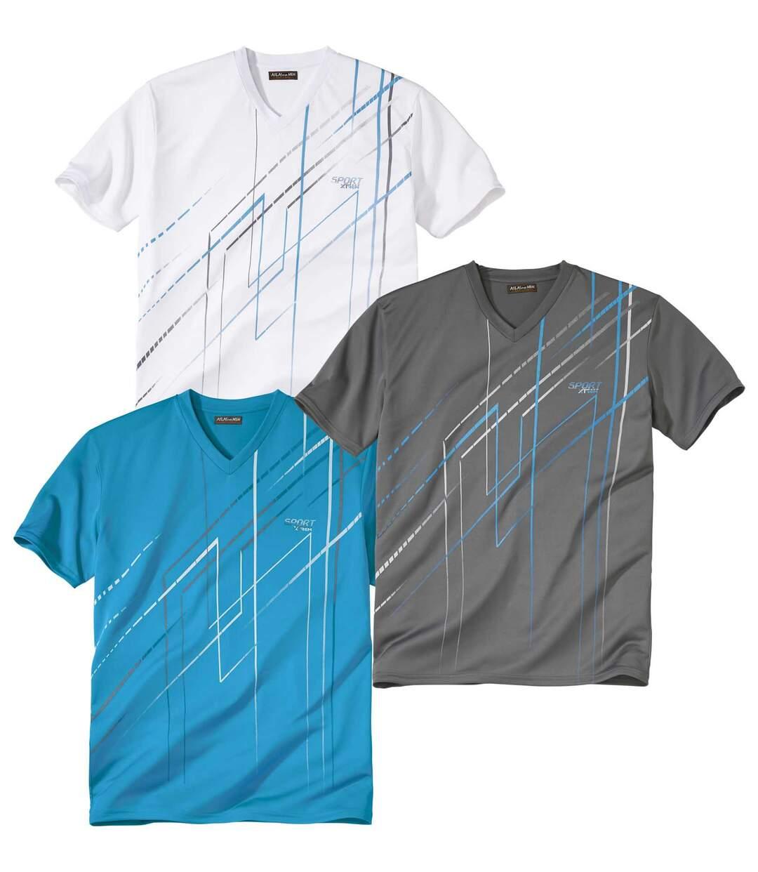 Set van 3 Sport X-Trem T-shirts