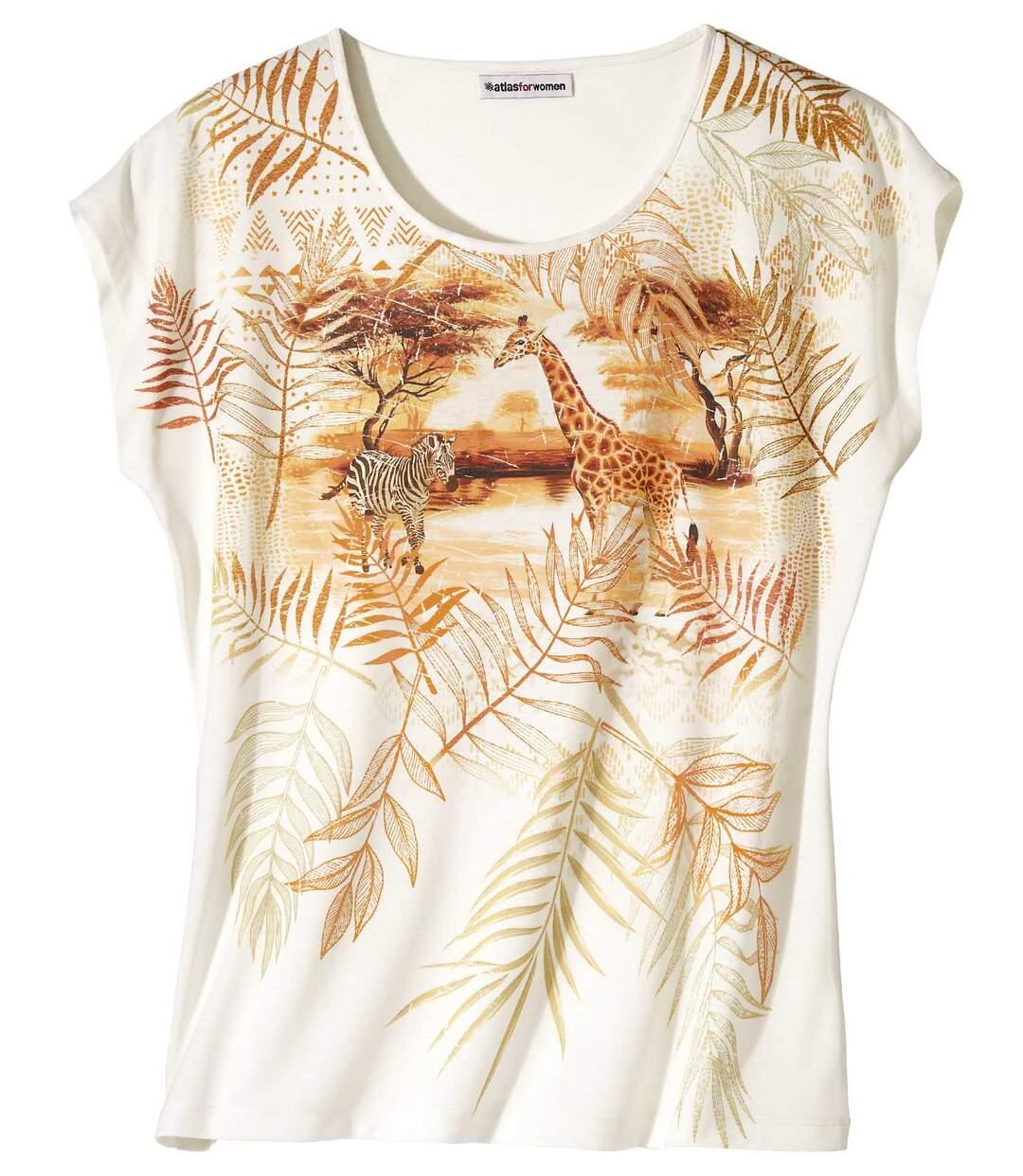Bedrucktes T-Shirt Savanne Atlas For Men