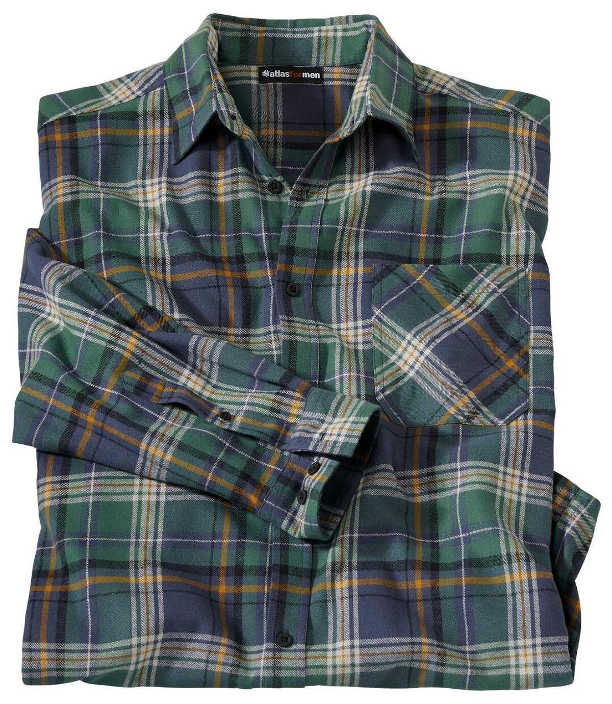 Flanelowa koszula w kratę Góry Skaliste Atlas For Men