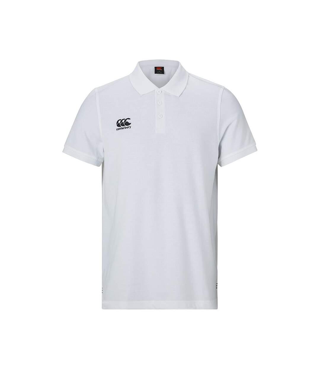 Canterbury Mens Waimak Polo Shirt (White) - UTRD763