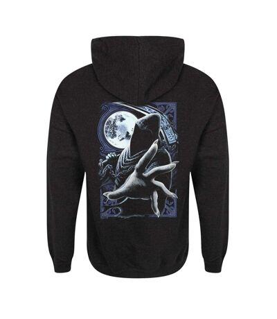 Requiem Collective Mens Enslaved Reaper Hoodie (Black) - UTGR4058