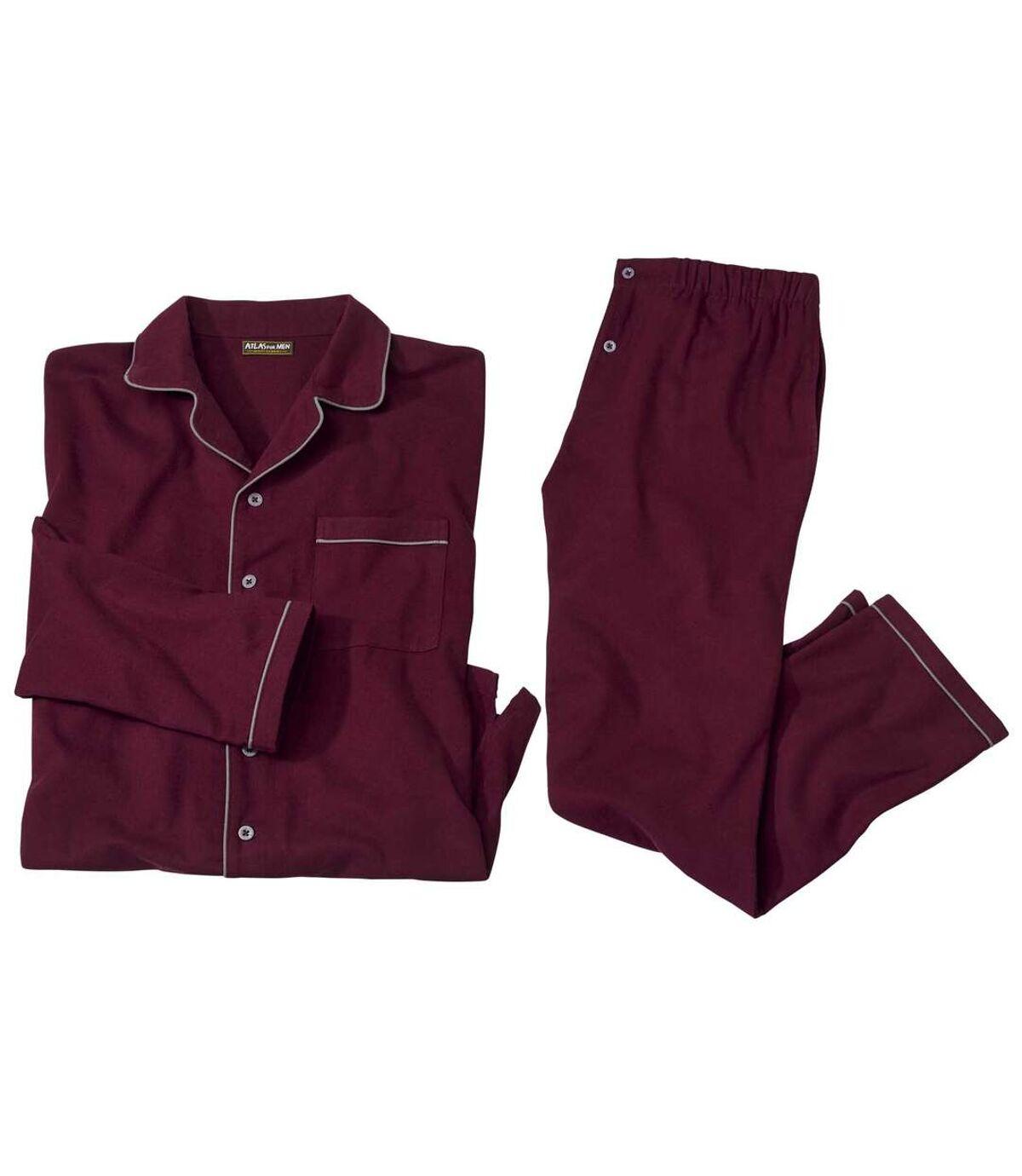 Flanelové pyžamo vklasickém stylu Atlas For Men