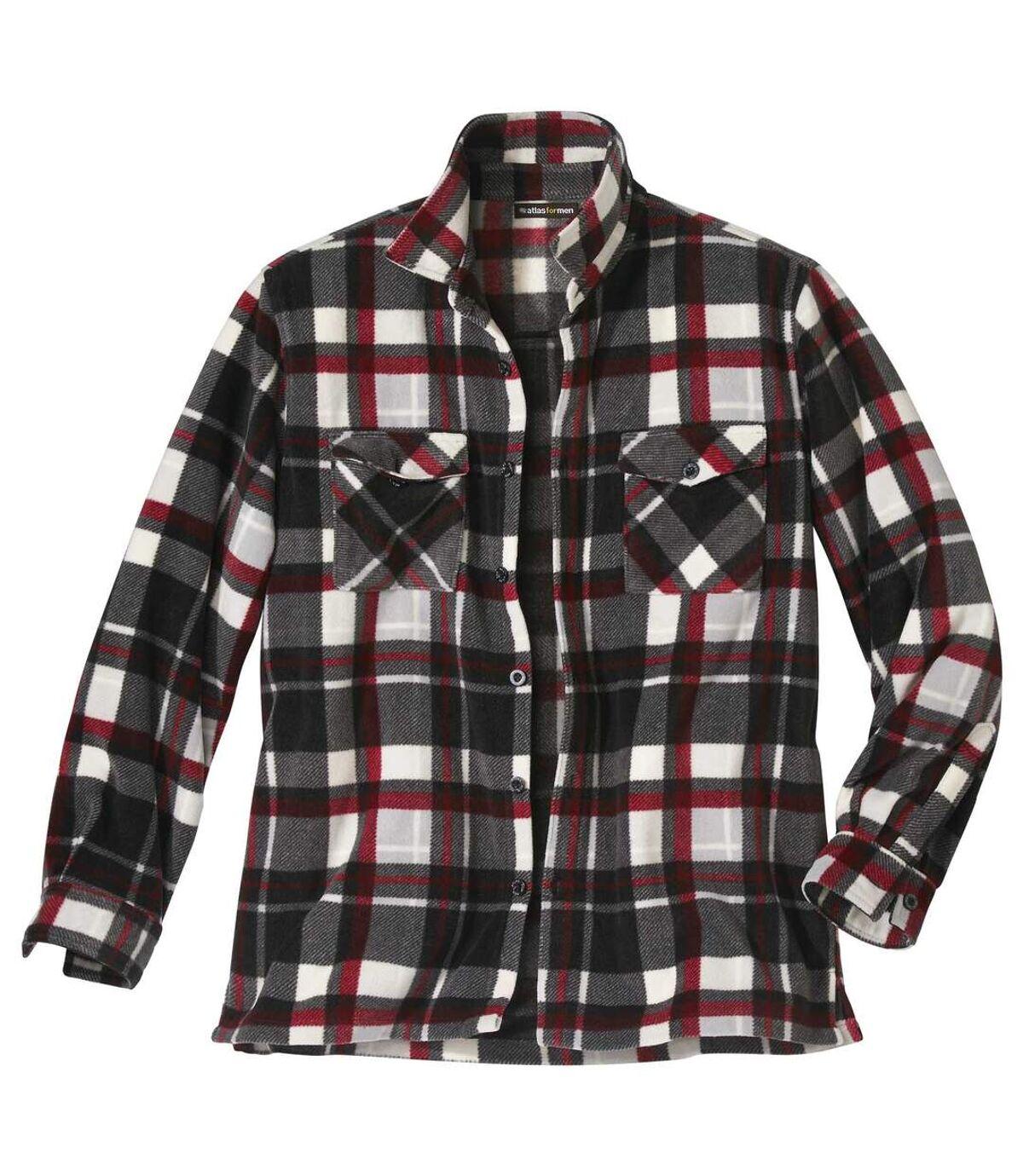 Geruit overhemdvest van fleece  Atlas For Men
