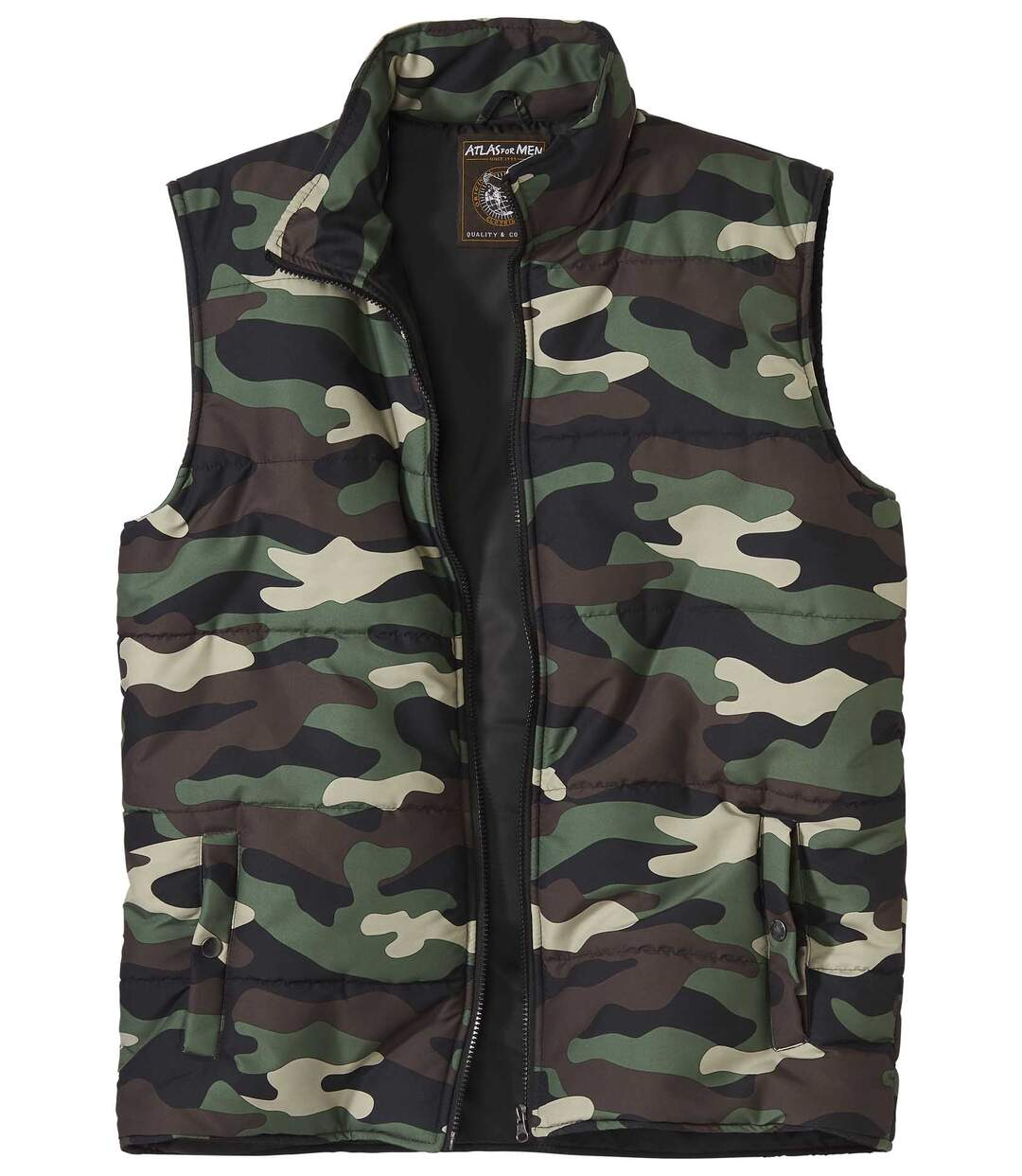 Men's Padded Camouflage Bodywarmer