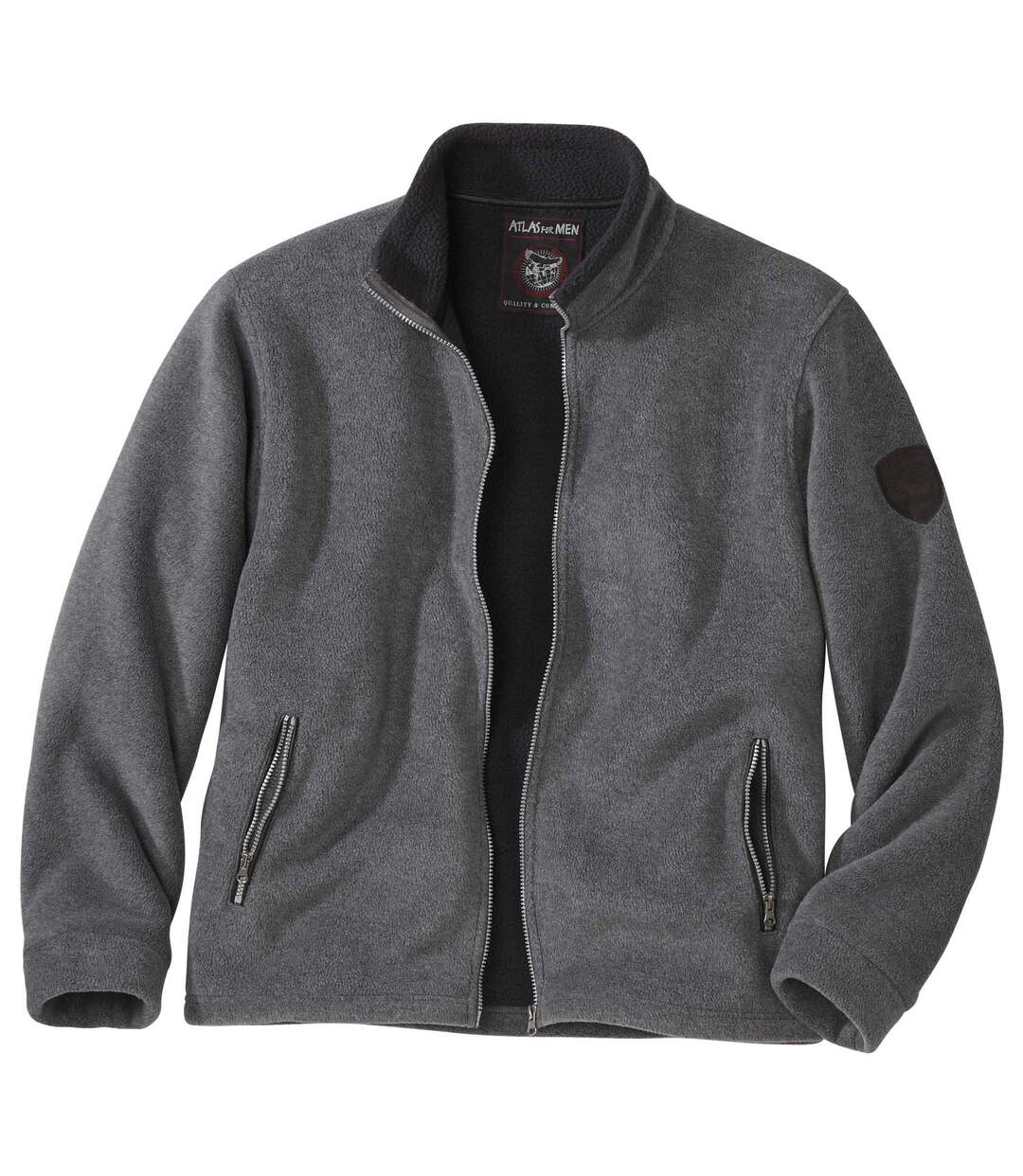 Polarowa bluza podszyta kożuszkiem sherpa