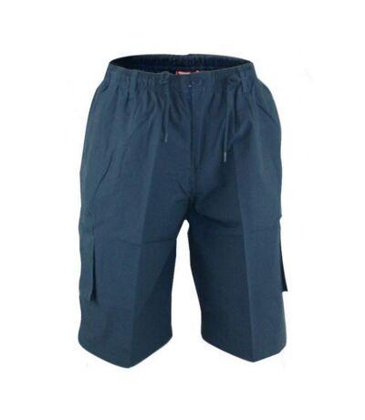 Duke Mens Nick-D555 Shaped Leg Cargo Shorts (Navy) - UTDC231