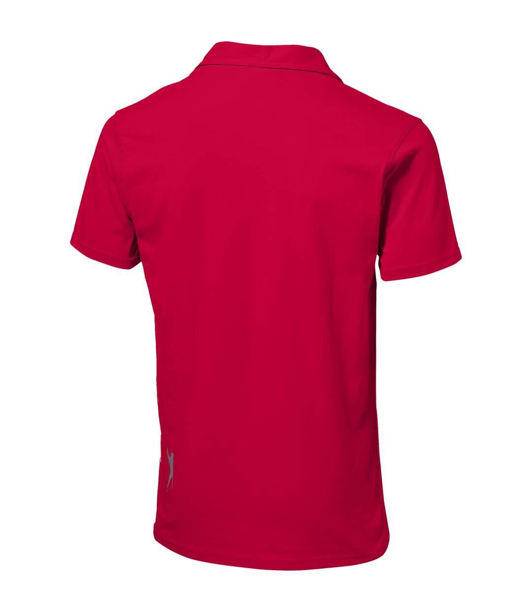 Slazenger Mens Let Short Sleeve Polo (Red) - UTPF1740