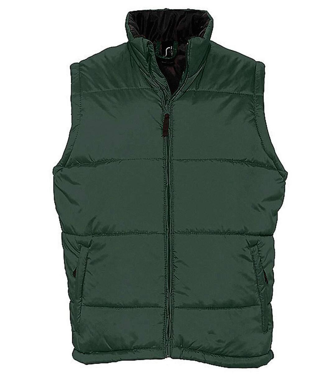 Doudoune veste sans manches matelassée - 44002 - vert