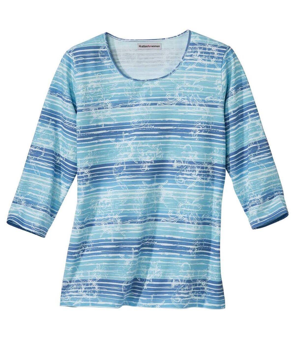 Tee-Shirt Imprimé Aquatique  Atlas For Men