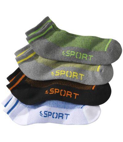4pár sport zokniból álló szett