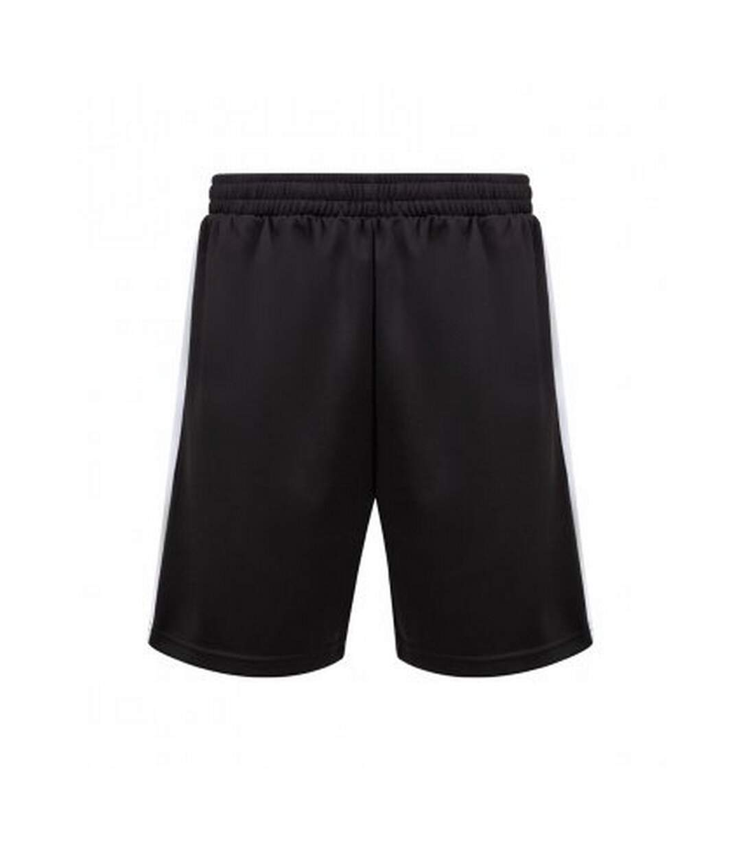 Finden and Hales Mens Knitted Shorts (Black/White) - UTPC4028