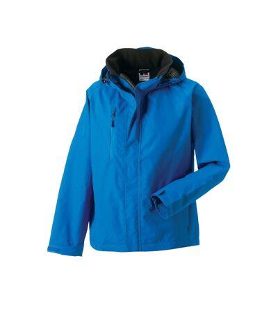 Jerzees Colours Mens Premium Hydraplus 2000 Water Resistant Jacket (Azure Blue) - UTBC564