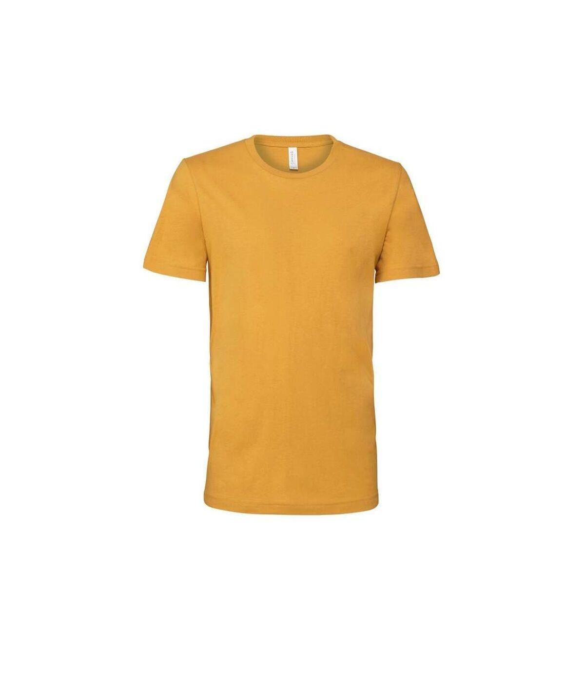 Canvas - T-shirt JERSEY - Hommes (Moutarde) - UTBC163