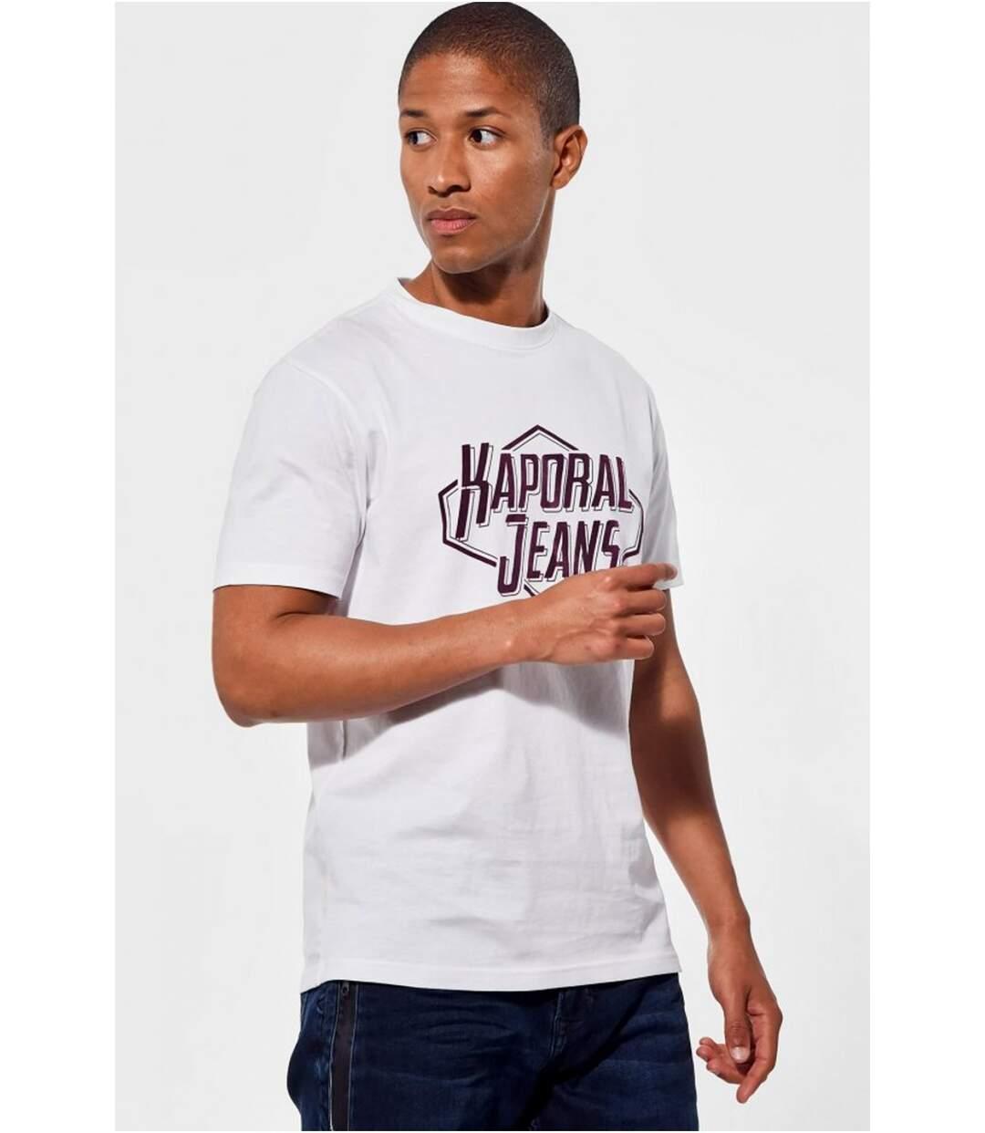 Tee shirt coton bio à gros logo  -  Kaporal - Homme