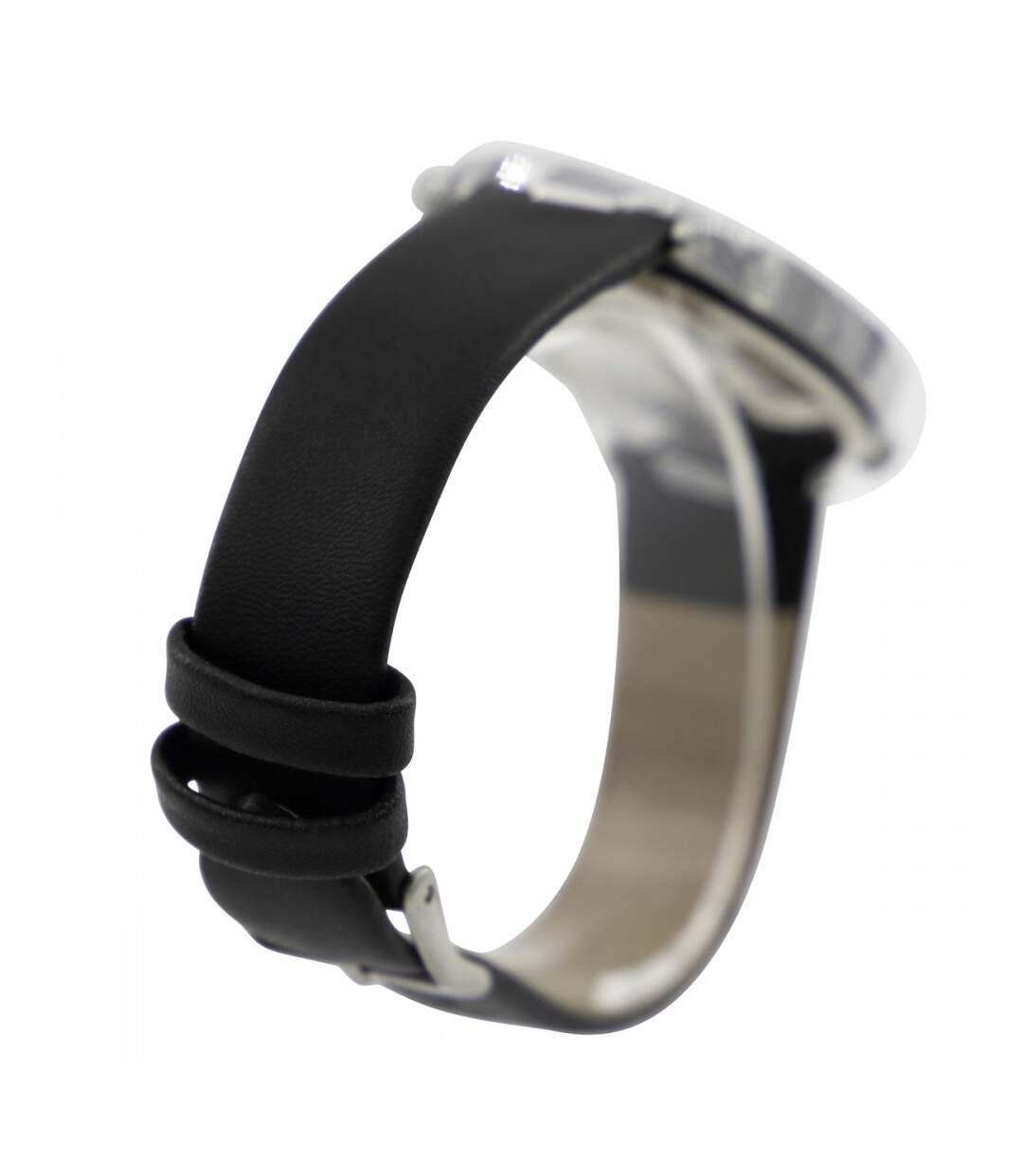 Dégagement Montre Femme M. JOHN bracelet Cuir Noir dsf.d455nksdKLFHG