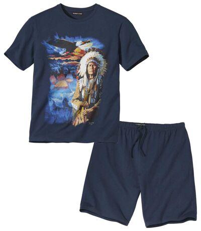 Krátke pyžamo Indiánske legendy