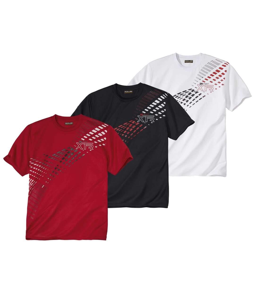 Set van 3 sportieve T-shirts