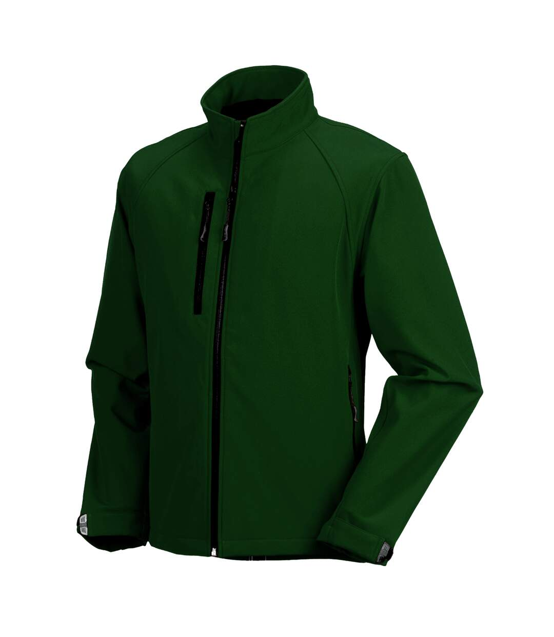 Russell Mens Water Resistant & Windproof Softshell Jacket (Bottle Green) - UTBC562