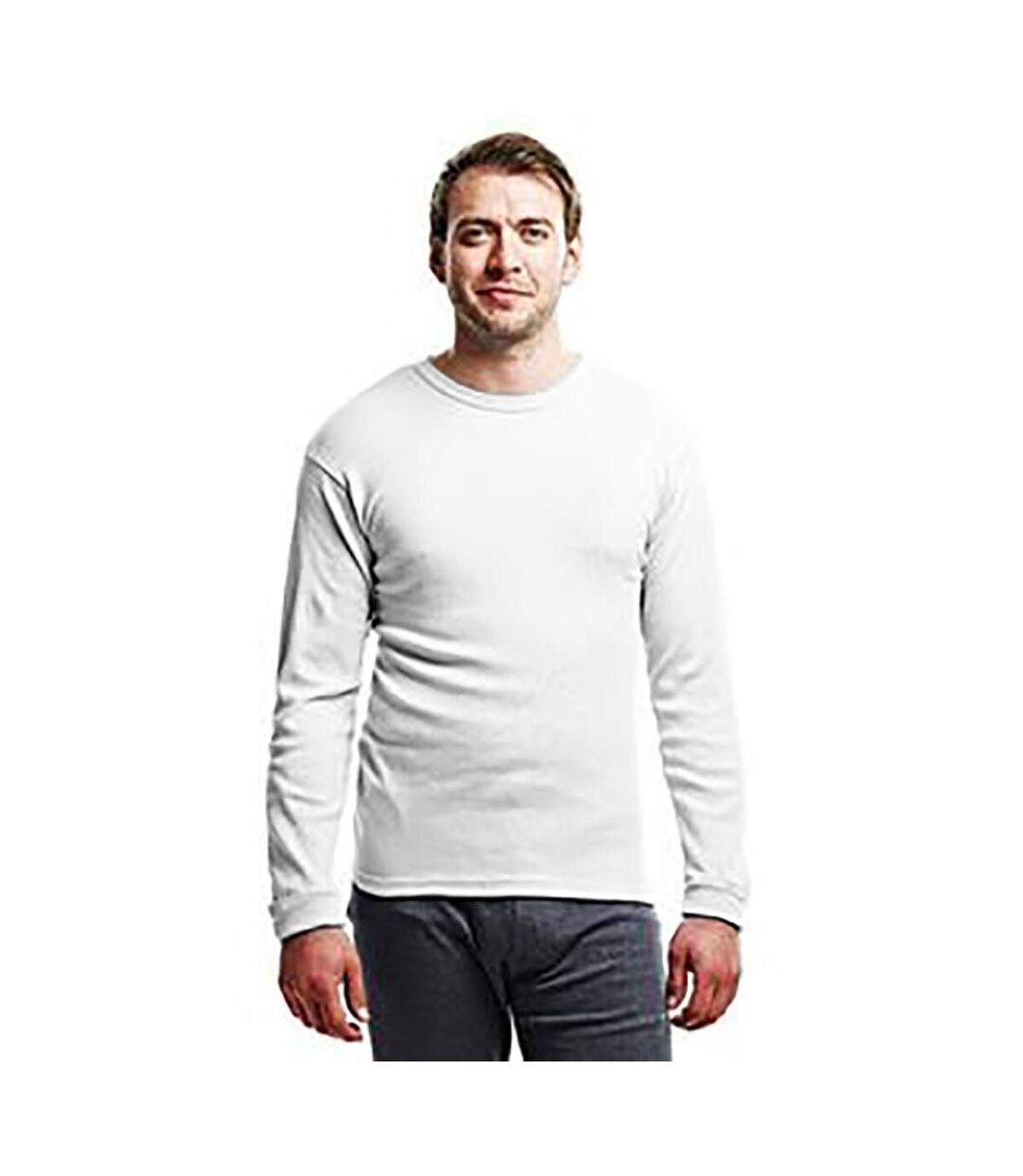 Regatta - T-shirt thermique à manche longues - Homme (Blanc) - UTRW1259