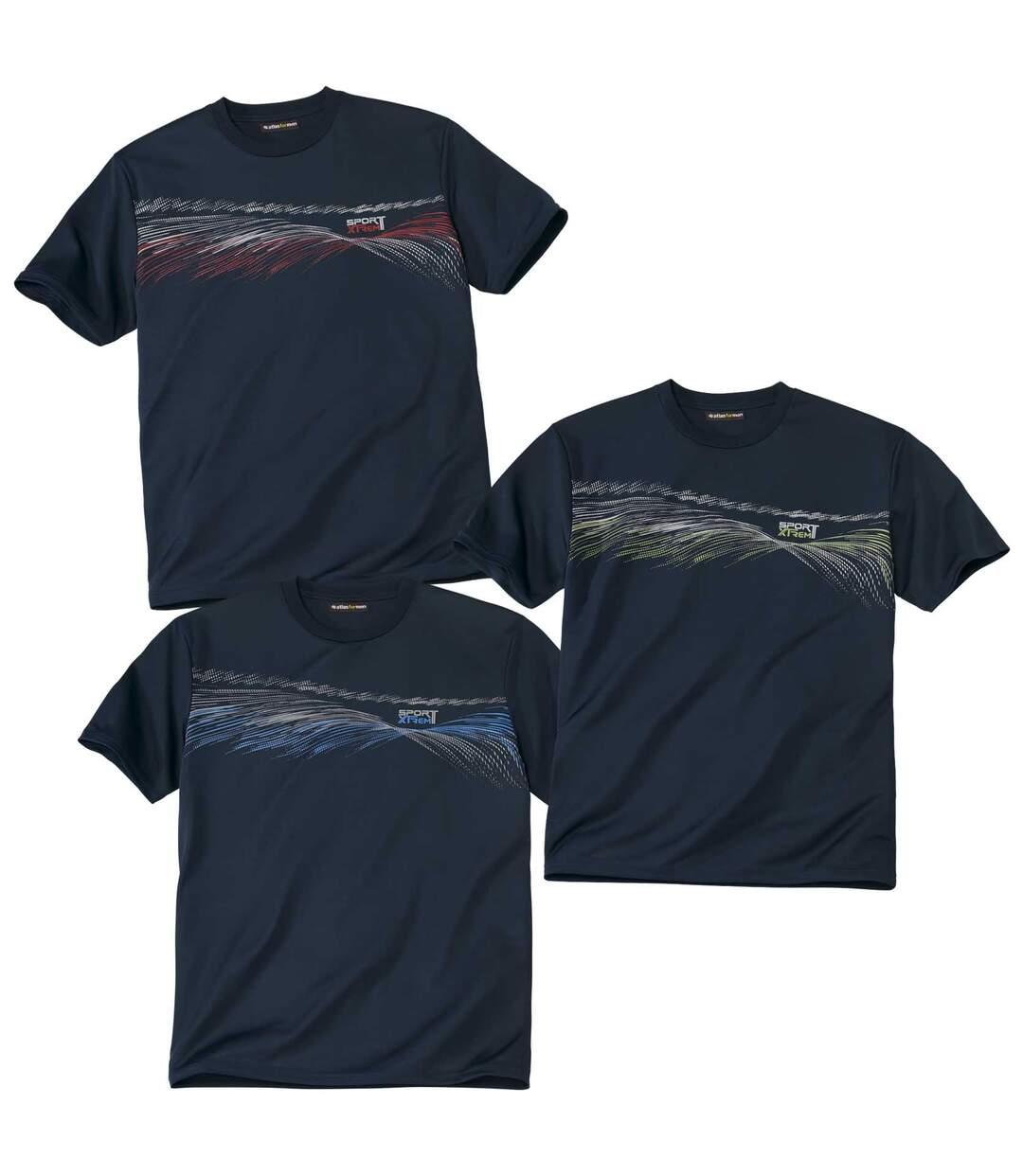 3darabos Sport póló szett